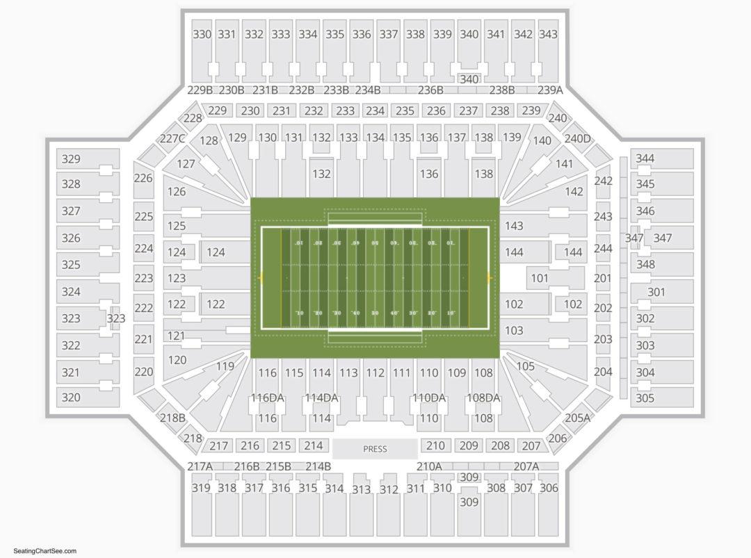 Alamodome Seating Chart Seating Charts Amp Tickets