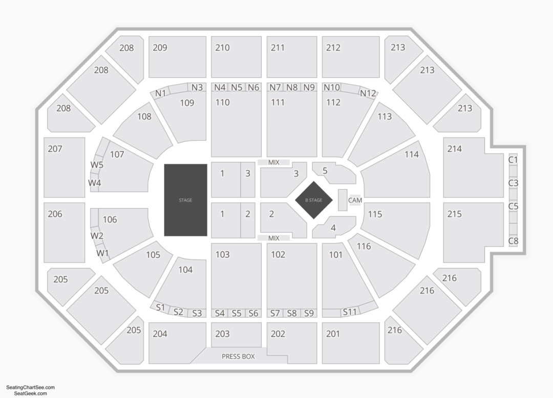 Allstate Arena Concert Seating Chart