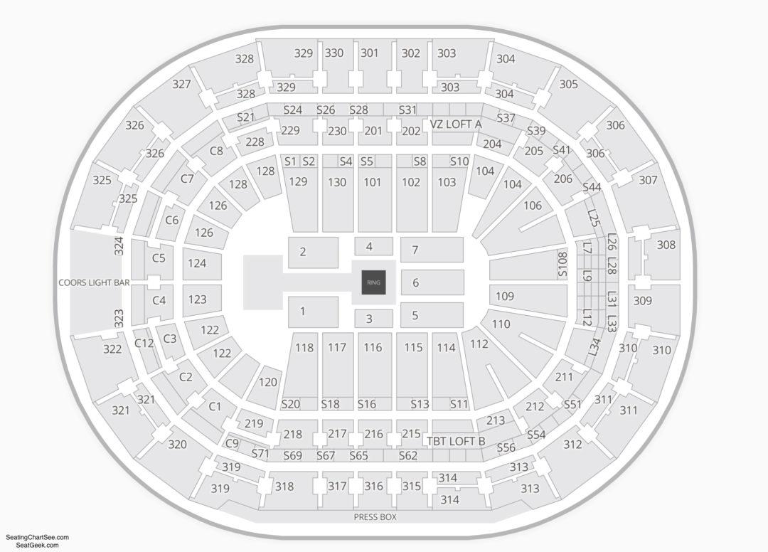 Amalie Arena Wwe Seating Chart