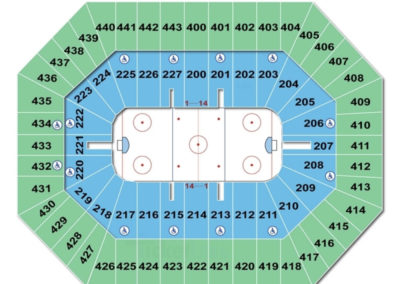 Bradley Center Seating Chart Row Numbers Information