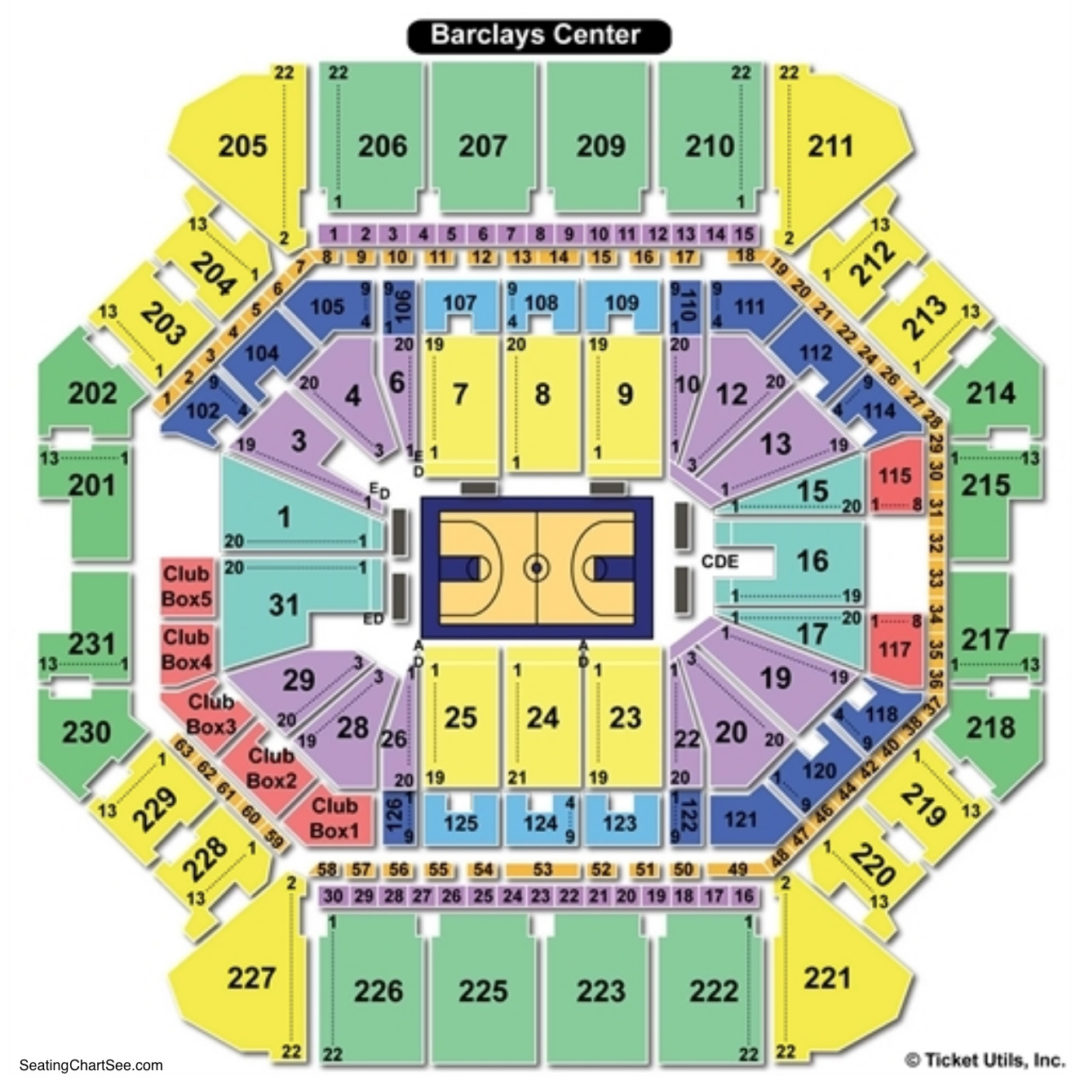 Barclays Center Wwe Seating Chart Ultrasonic Dog Deterrent