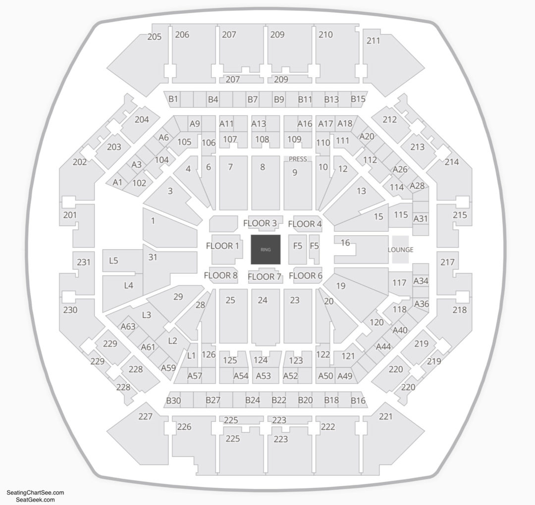 Barclays Center Seating Chart | Seating Charts & Tickets