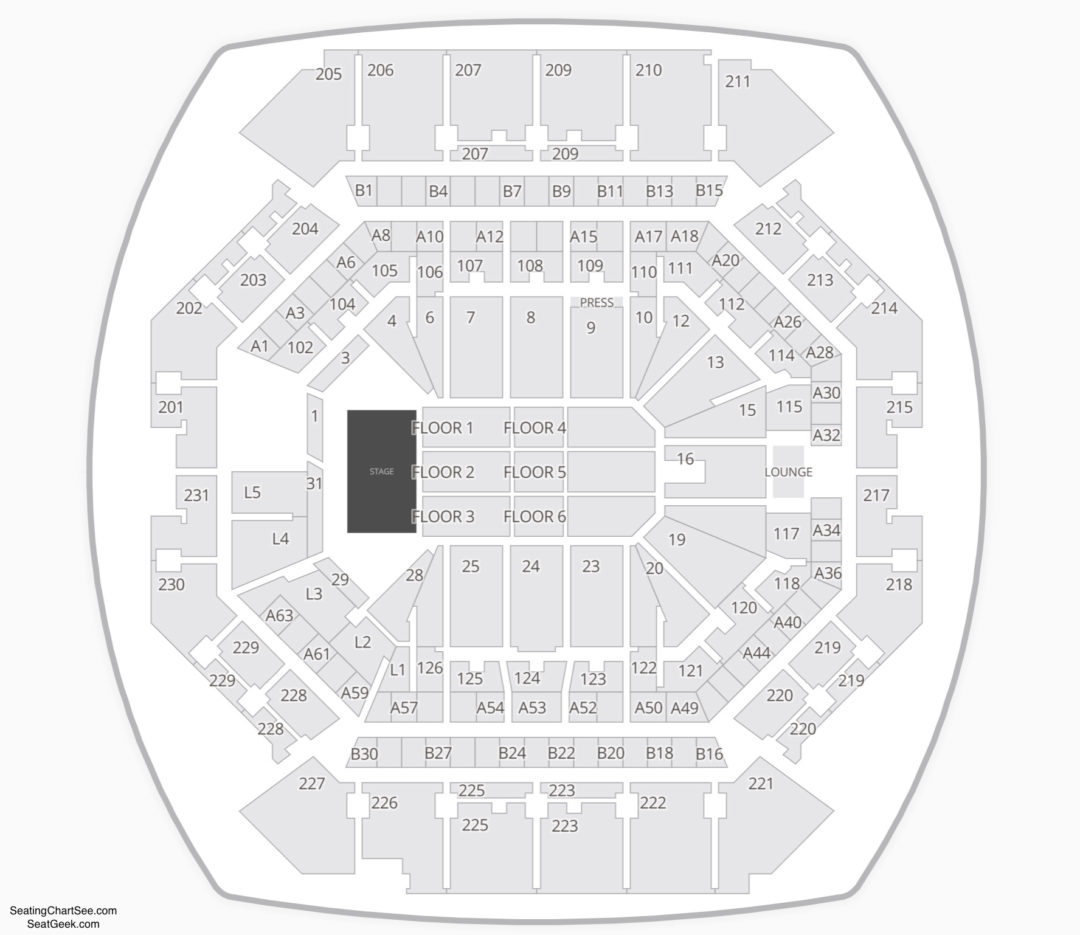 Barclays Center Seating Chart Seating Charts Tickets