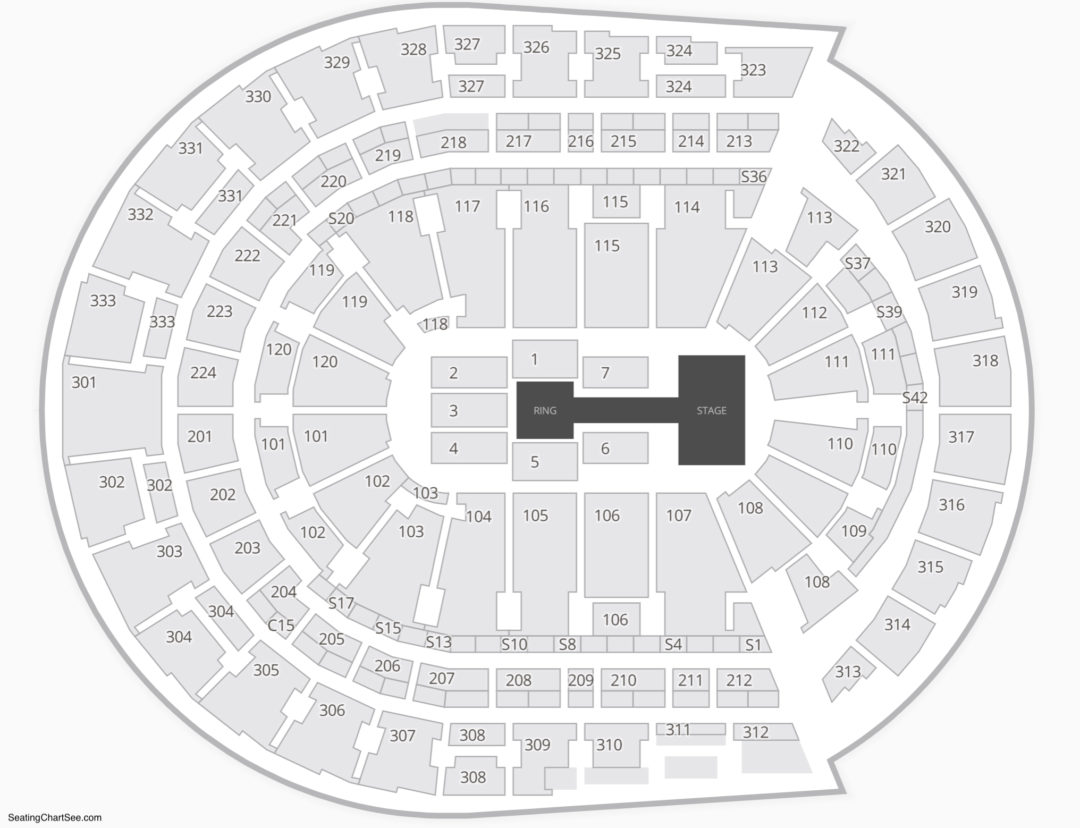 Bridgestone Arena Wwe Seating Chart