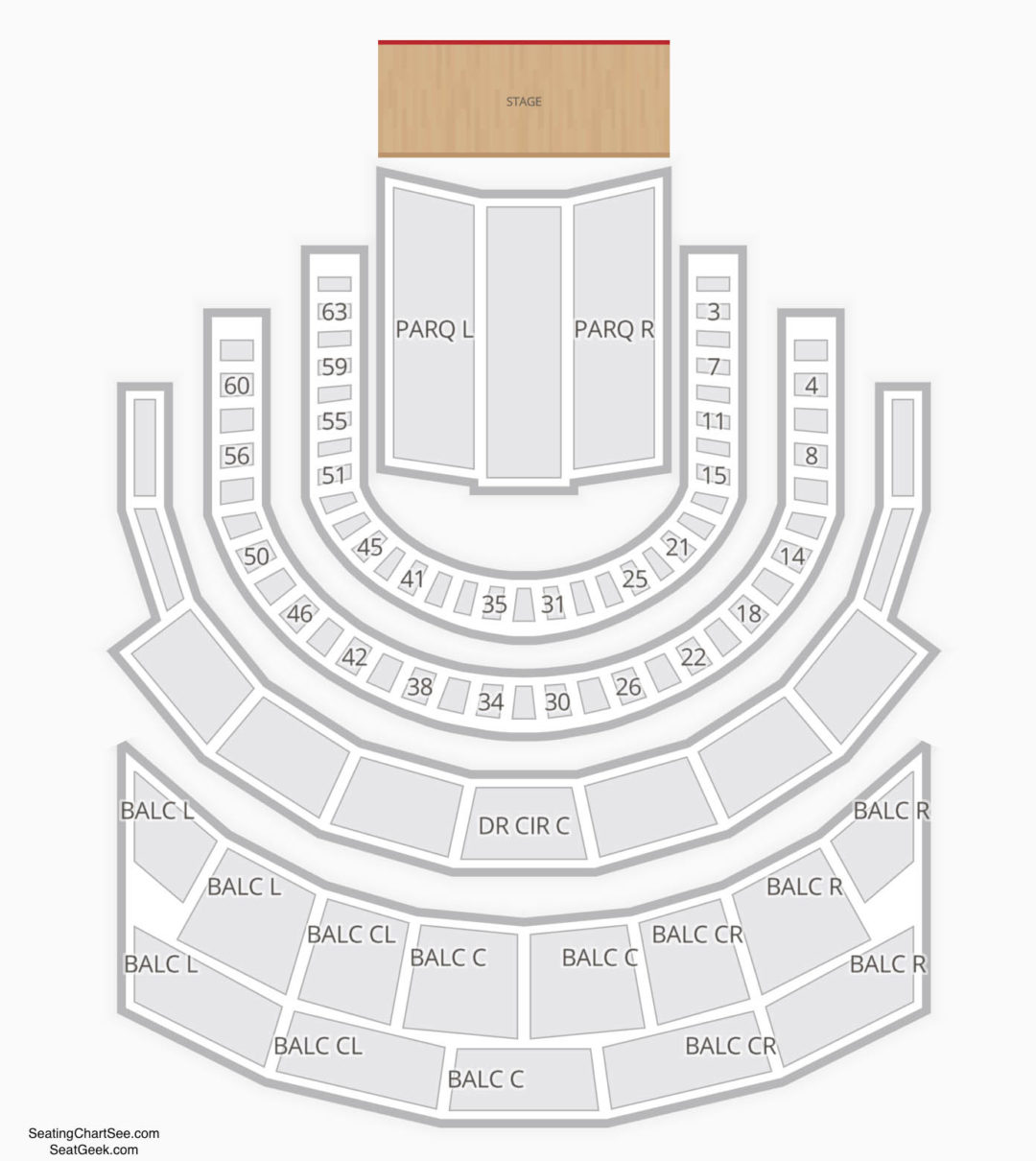 Carnegie hall stern auditorium seating chart seating charts