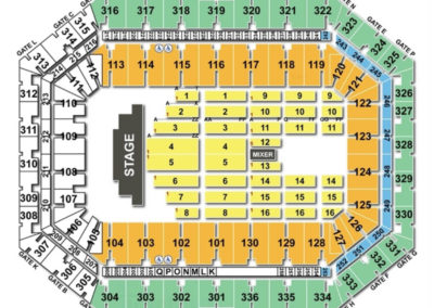 Carrier dome seating chart seating charts tickets