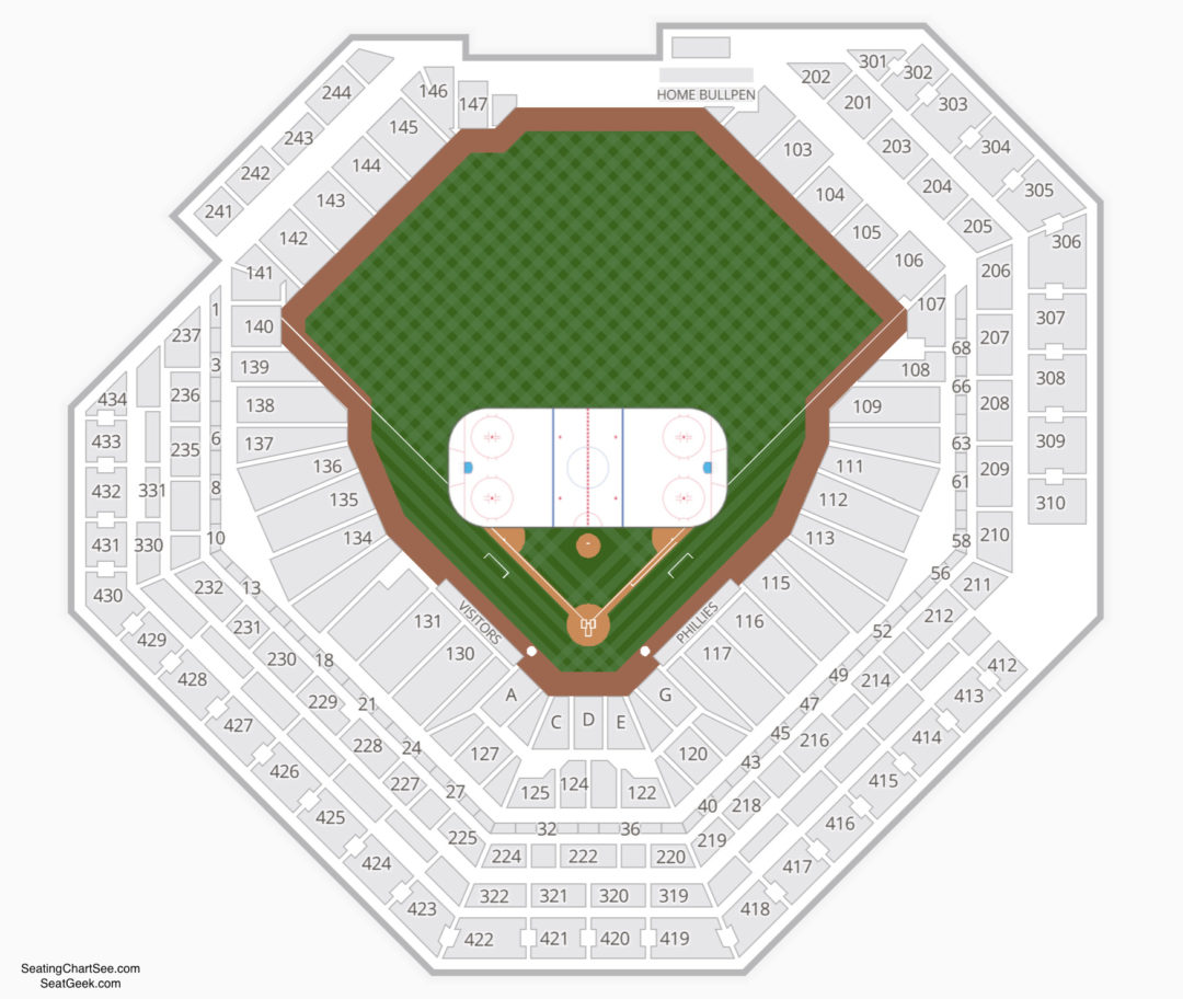Citizens Bank Park Concert Seating View Eureka Springs