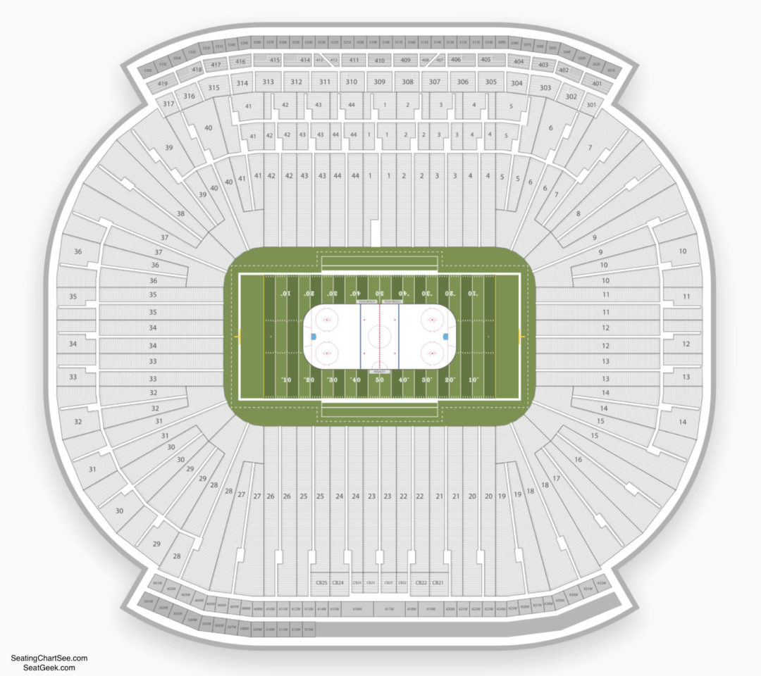 The Big House Michigan Stadium Seating Chart Awesome Home