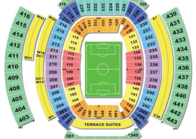 Everbank Field Seating Chart Soccer