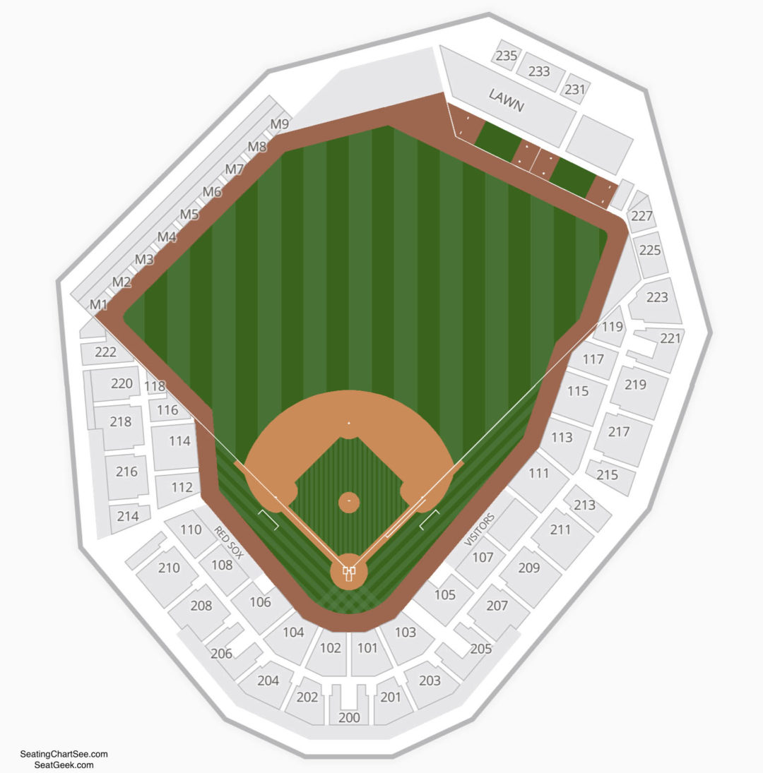 Gcl Red Sox Seating Chart Jetblue Park Information