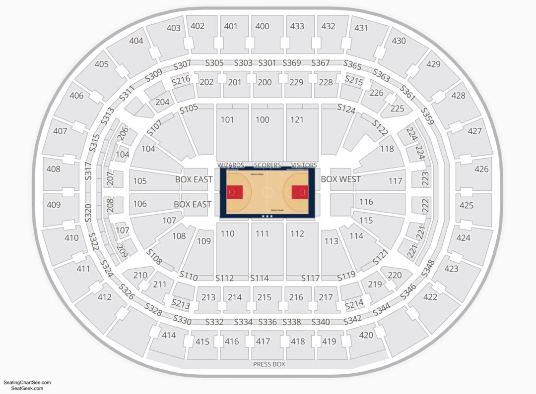 Capital One Arena Seating Chart