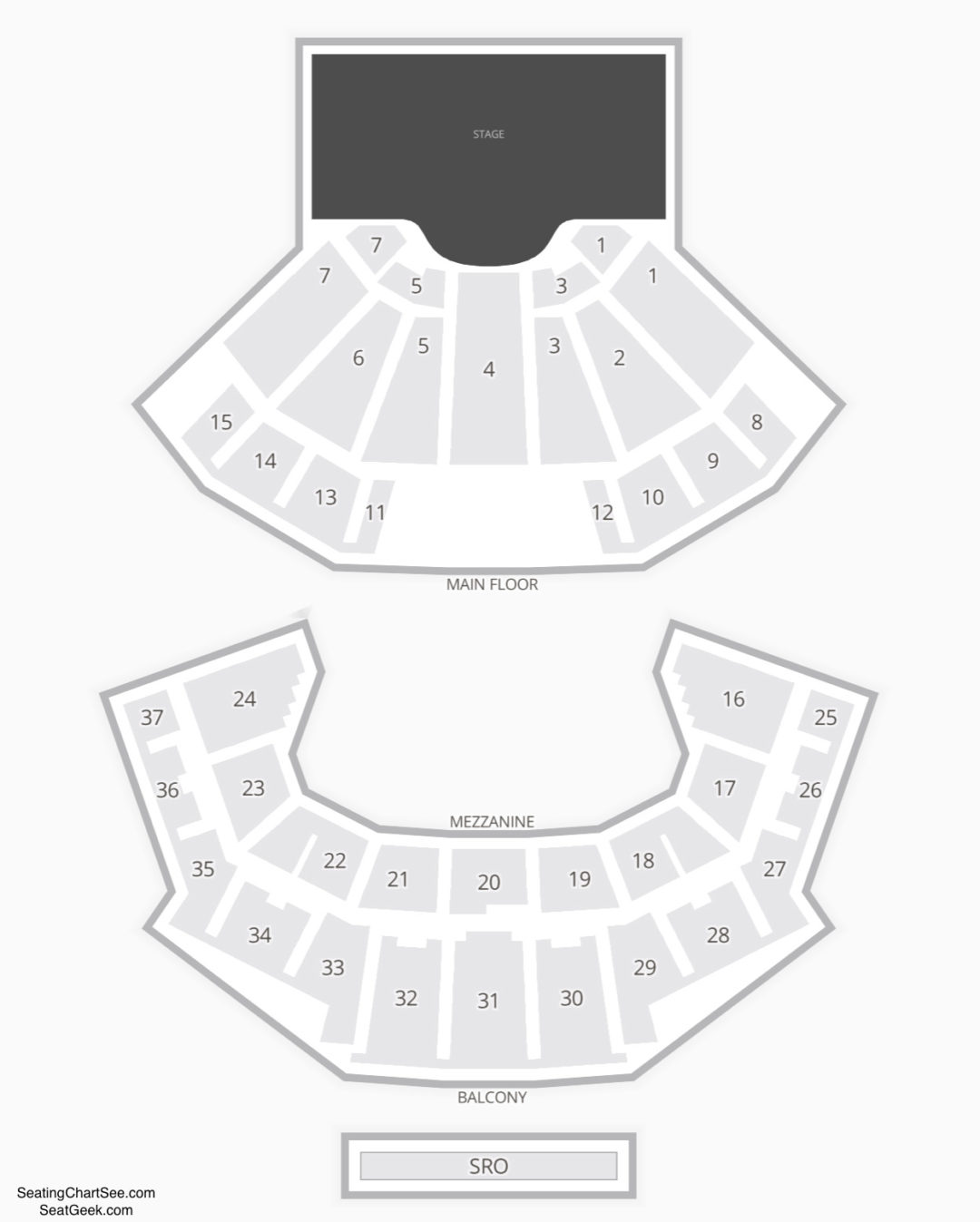 Grand Ole Opry House Seating Chart Concert