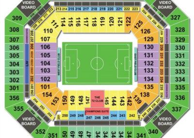Hard rock stadium seating chart seating charts tickets