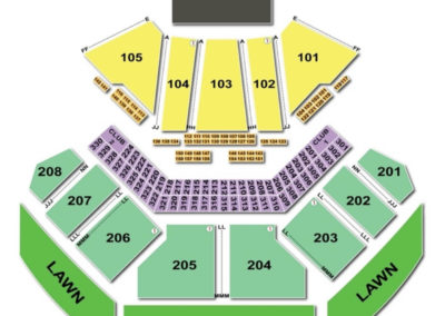 hollywood casino amphitheatre tinley park seating chart seating charts tickets. Black Bedroom Furniture Sets. Home Design Ideas