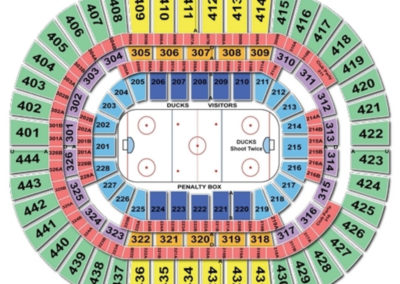 Honda Center Hockey Seating Chart