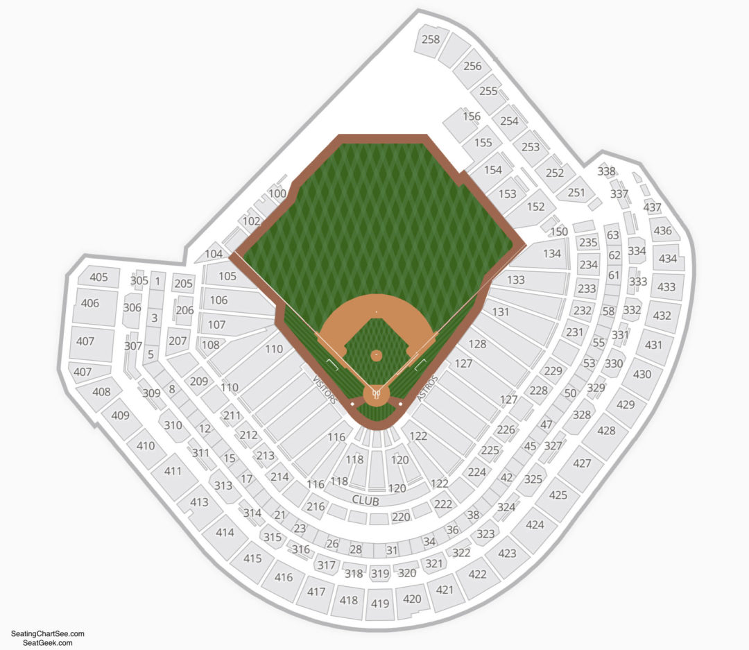 Minute Maid Park Seating Chart | Seating Charts & Tickets