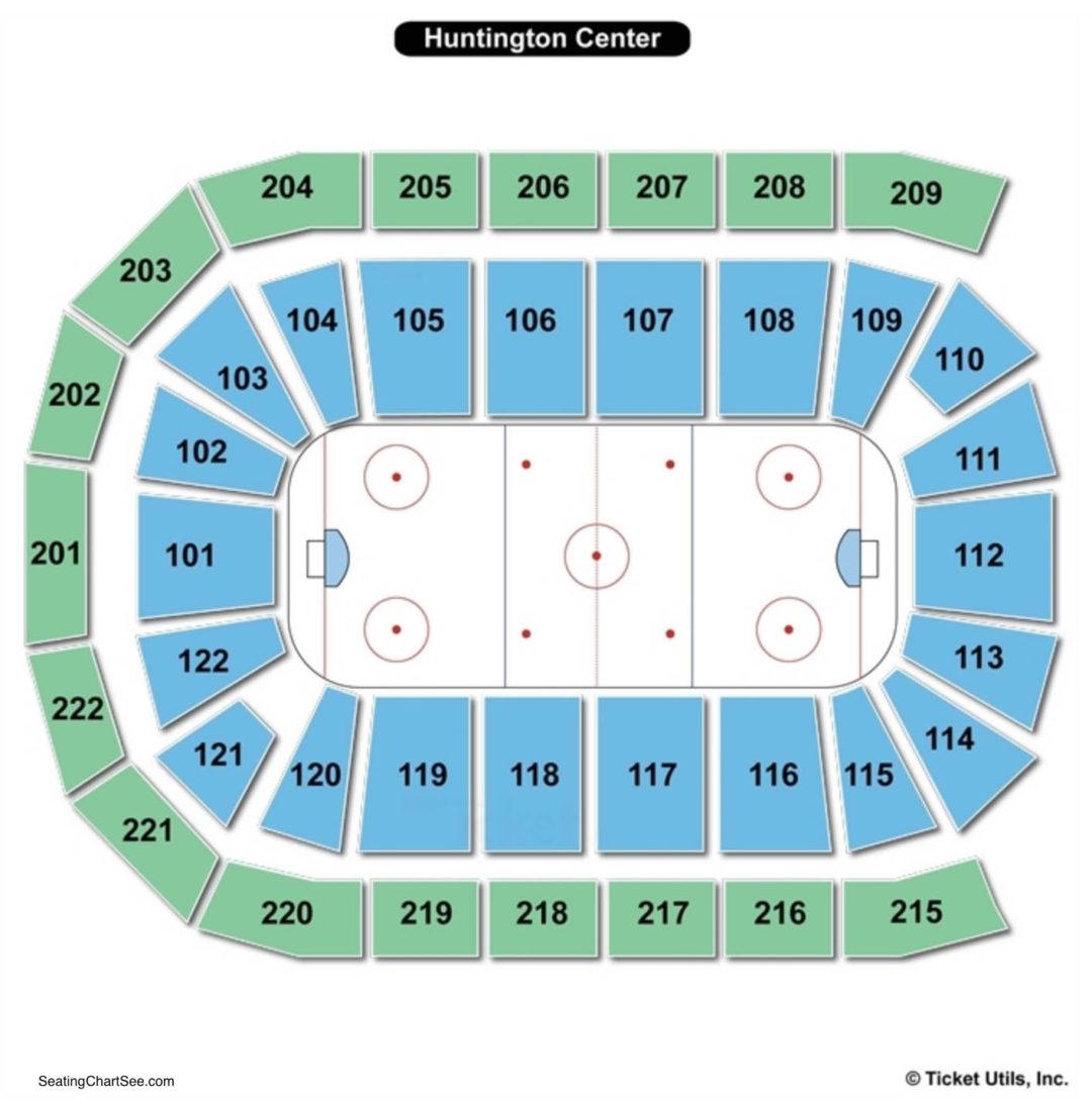 Huntington Center Seating Chart Hockey