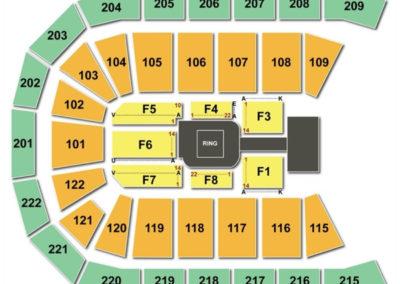 Huntington Center Seating Chart Wwe