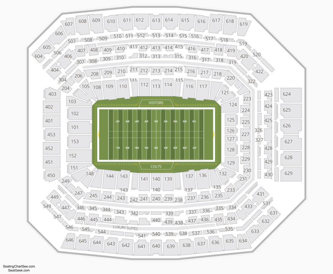 Lucas Oil Stadium Seating Chart Seating Charts Tickets