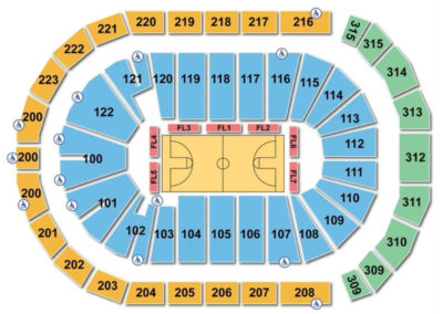 Infinite Energy Arena Seating Chart Seating Charts Amp Tickets