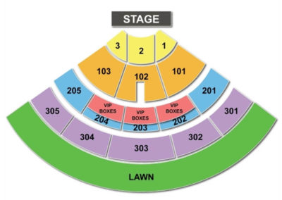 Jiffy Lube Live Seating Chart Seating Charts Tickets