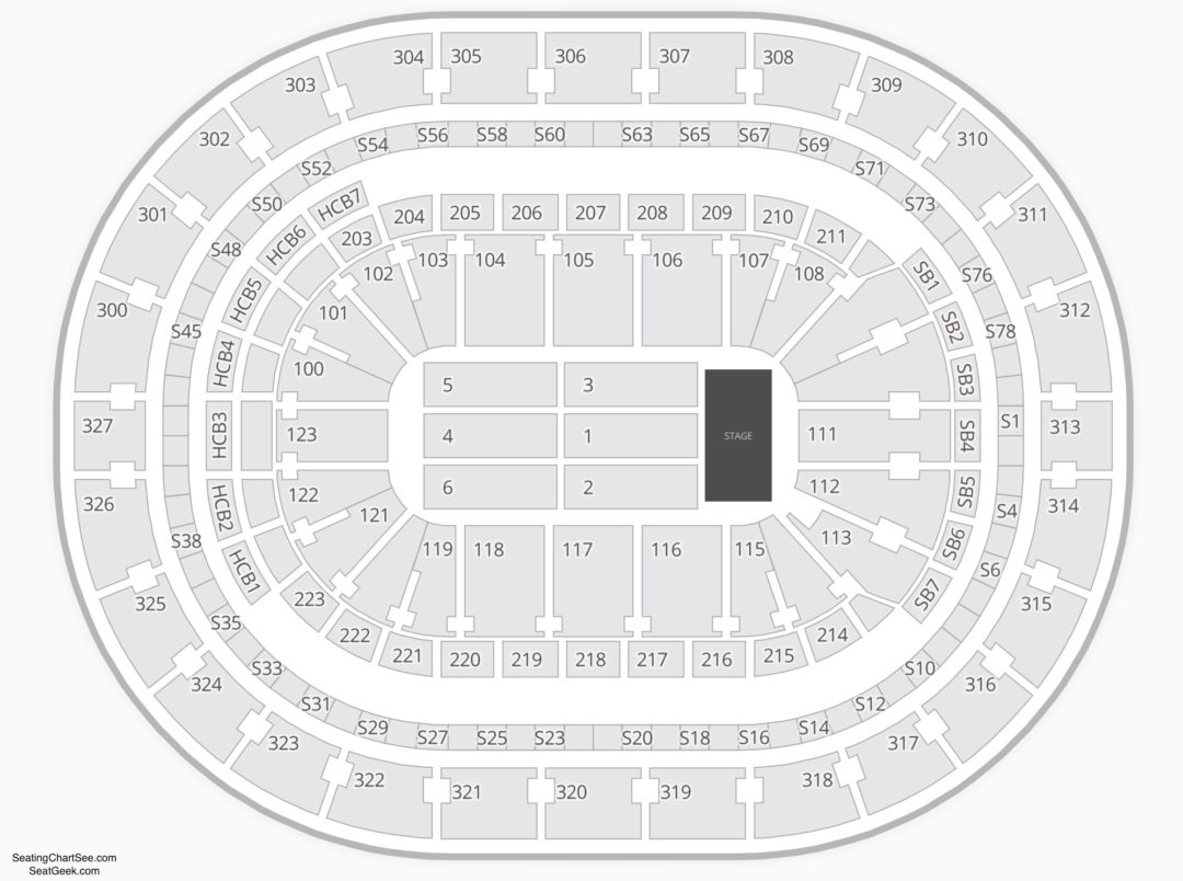 Keybank Center Seating Chart