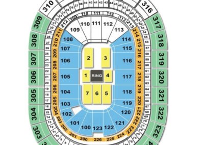 Keybank Center Seating Chart Wwe