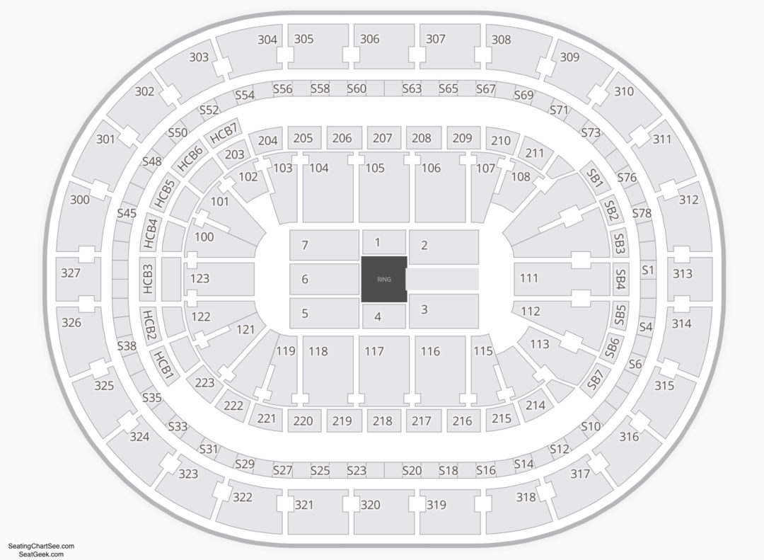 Keybank Center Wwe Seating Chart