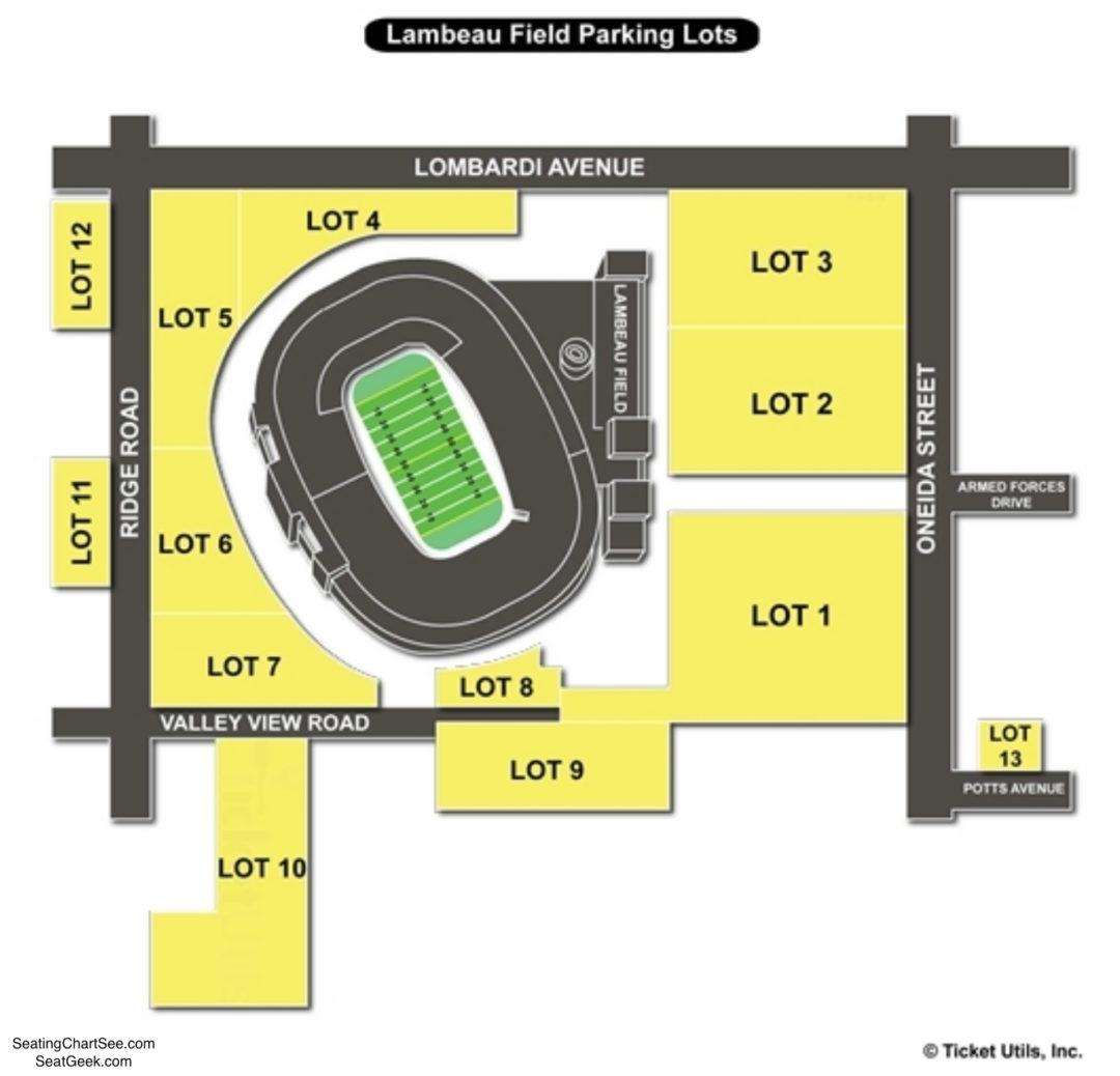 Lambeau Field Handicap Parking