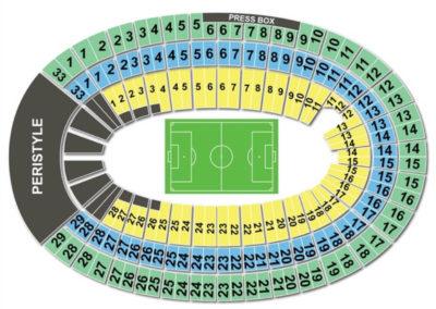 Los Angeles Memorial Coliseum Soccer Seating Chart