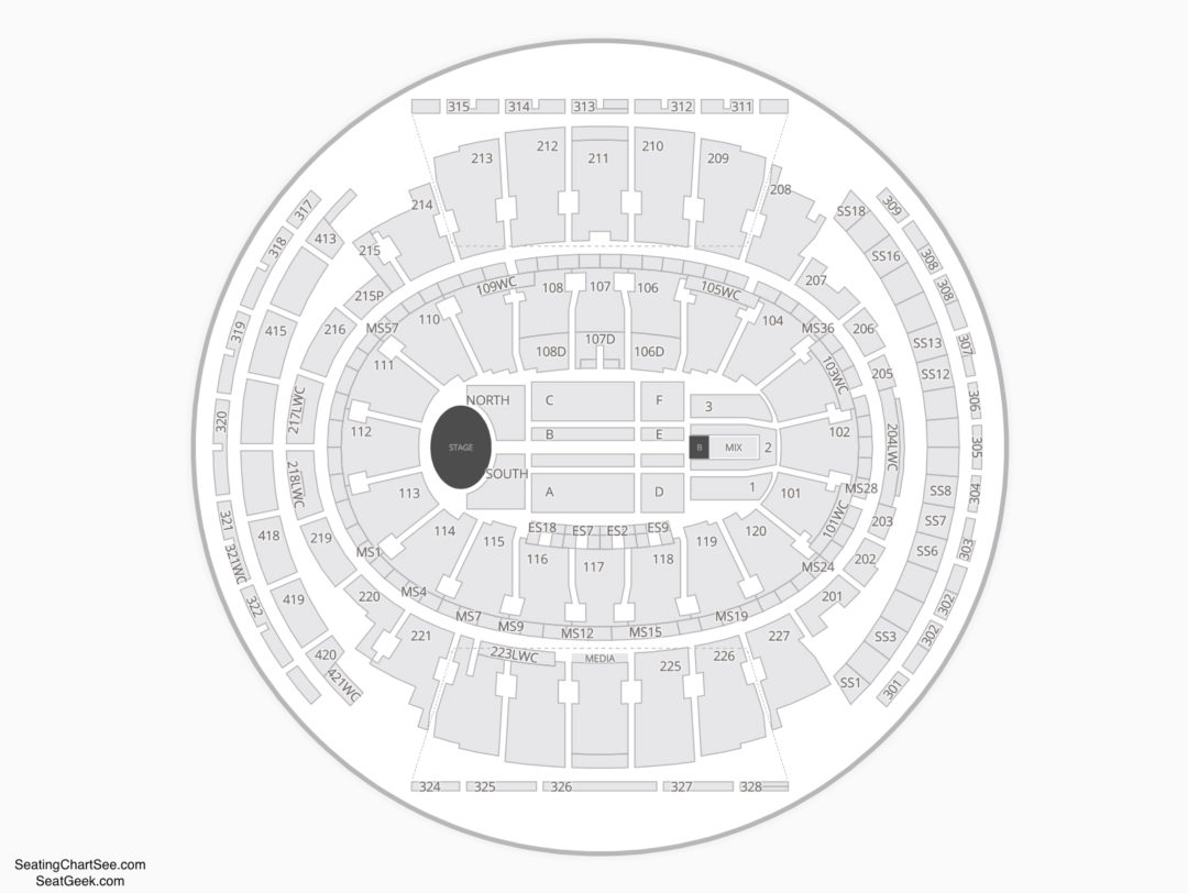 Madison Square Garden Seating For Dog Show