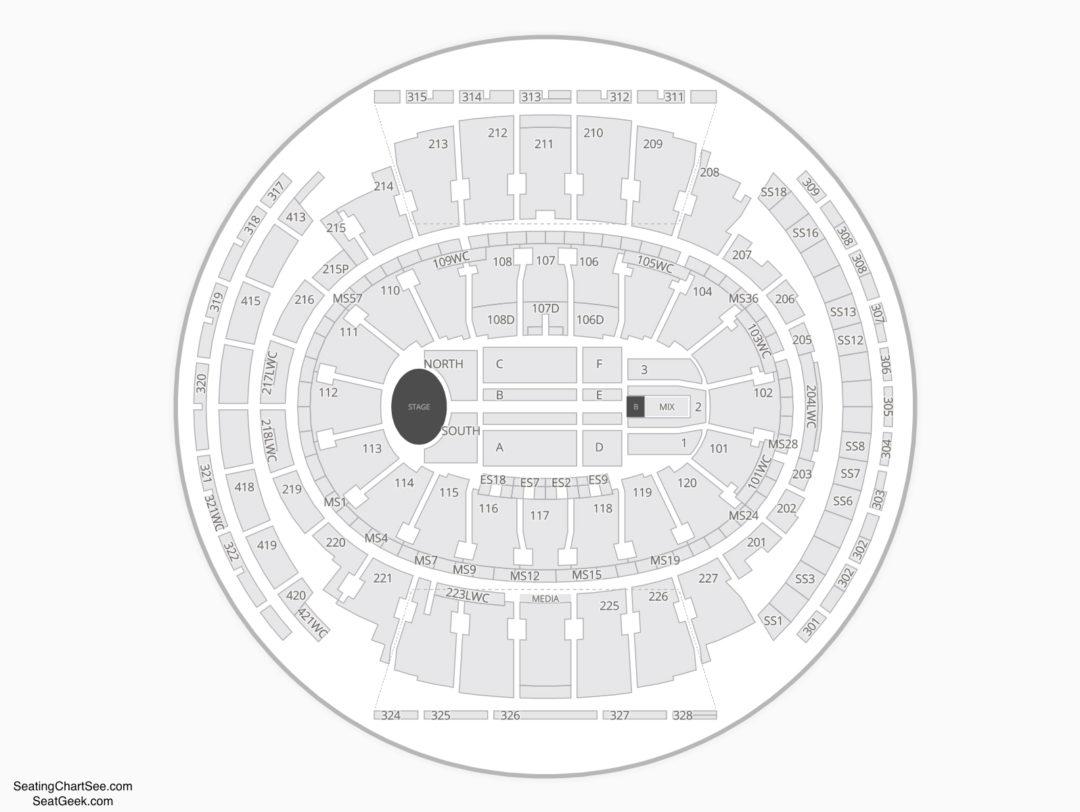 Madison square garden seating chart seating charts tickets - Madison square garden concert capacity ...
