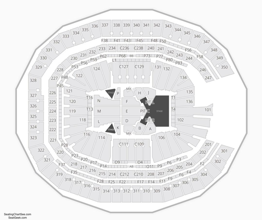 Mercedes Benz Stadium Seating Guide: Mercedes Benz Stadium Seating Chart
