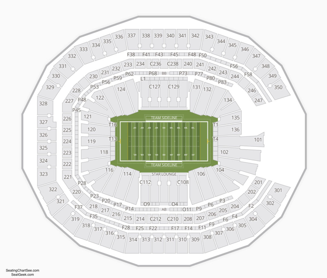 Mercedes Benz Stadium Tickets: Mercedes Benz Stadium Seating Chart