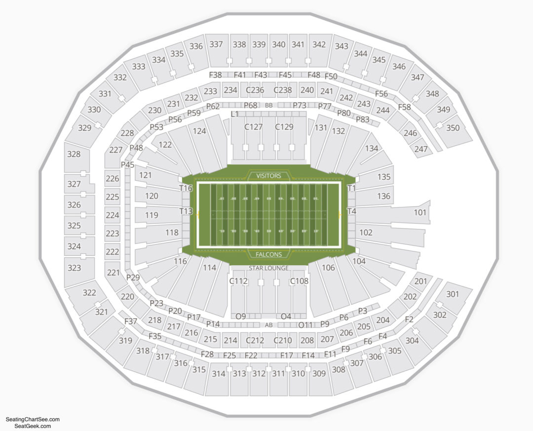 Mercedes Benz Stadium Seating Chart | Seating Charts & Tickets