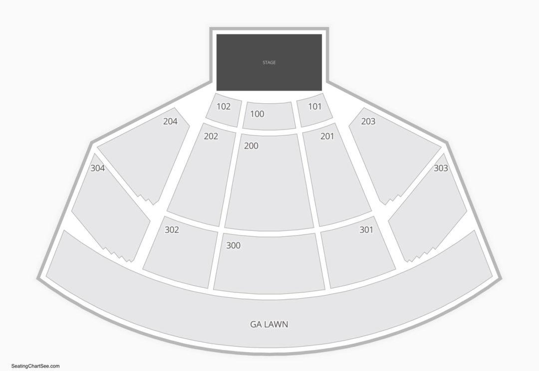Merriweather Post Pavilion Seating Chart Seating Charts