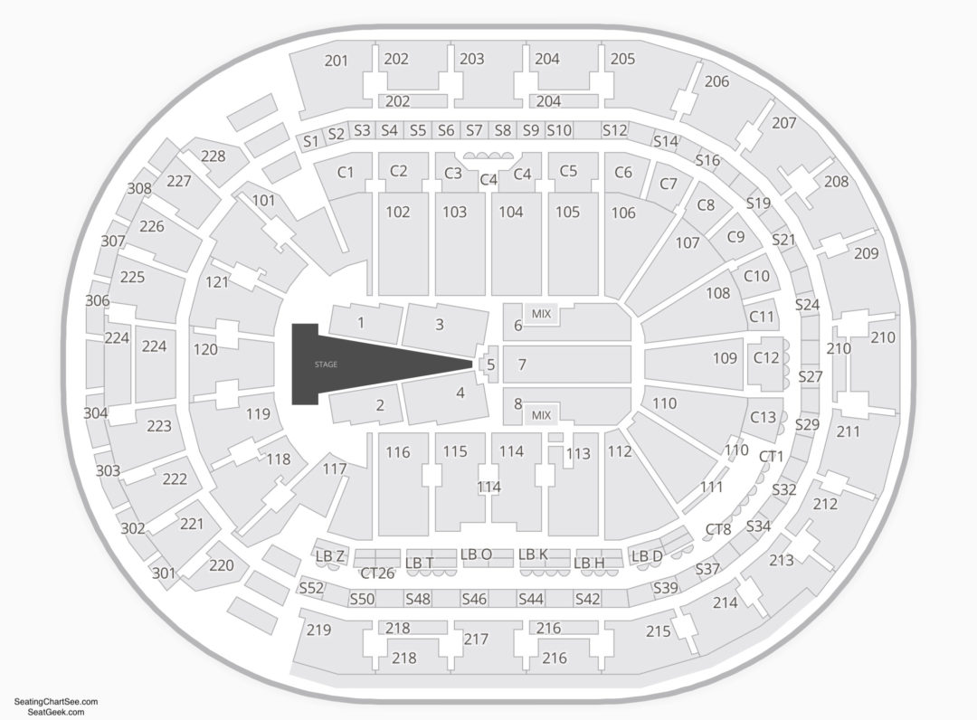 Nationwide Arena Concert Seating Chart
