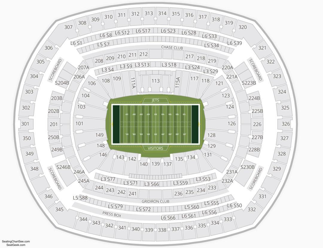 New York Giants Home Stadium Address