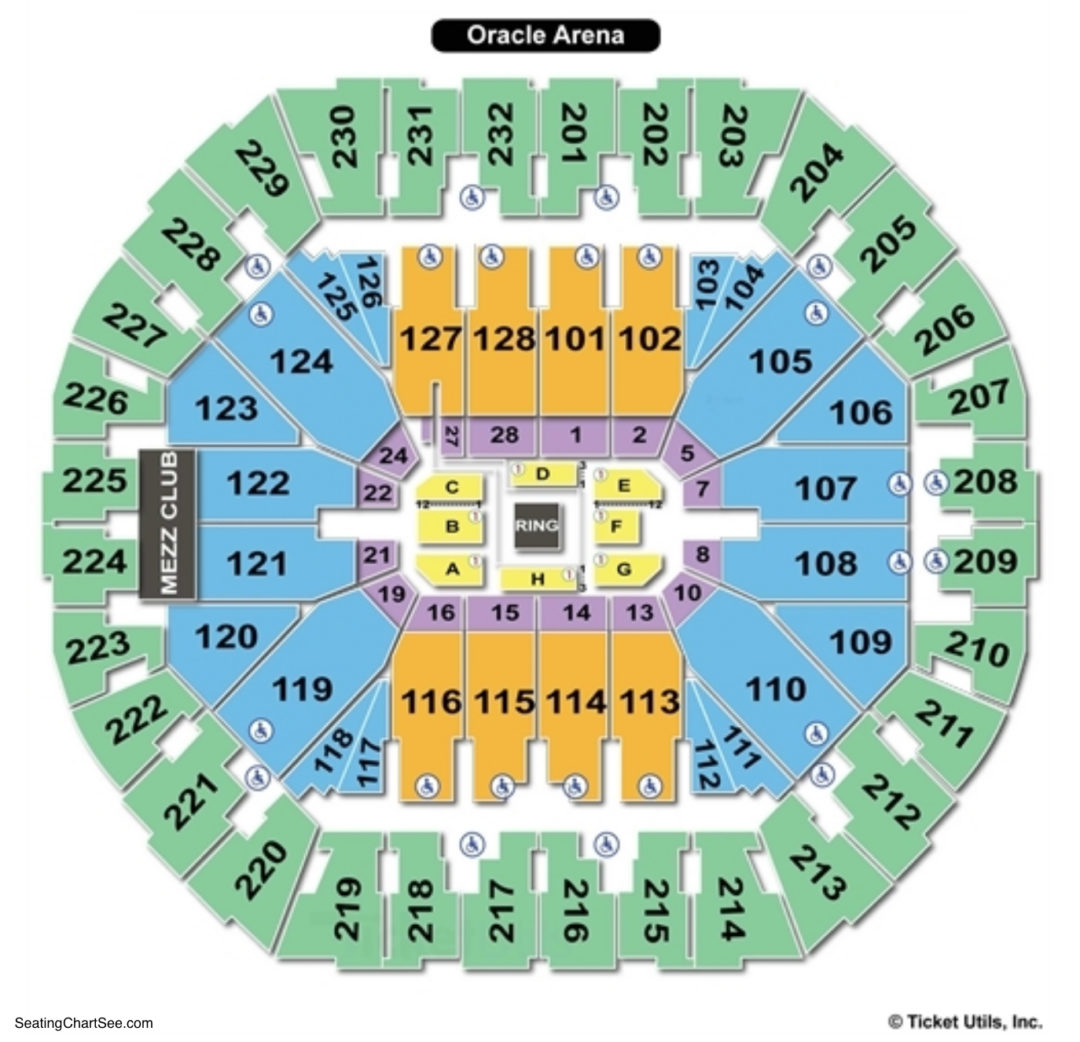 Warriors New Stadium Virtual Tour: Seating Charts & Tickets
