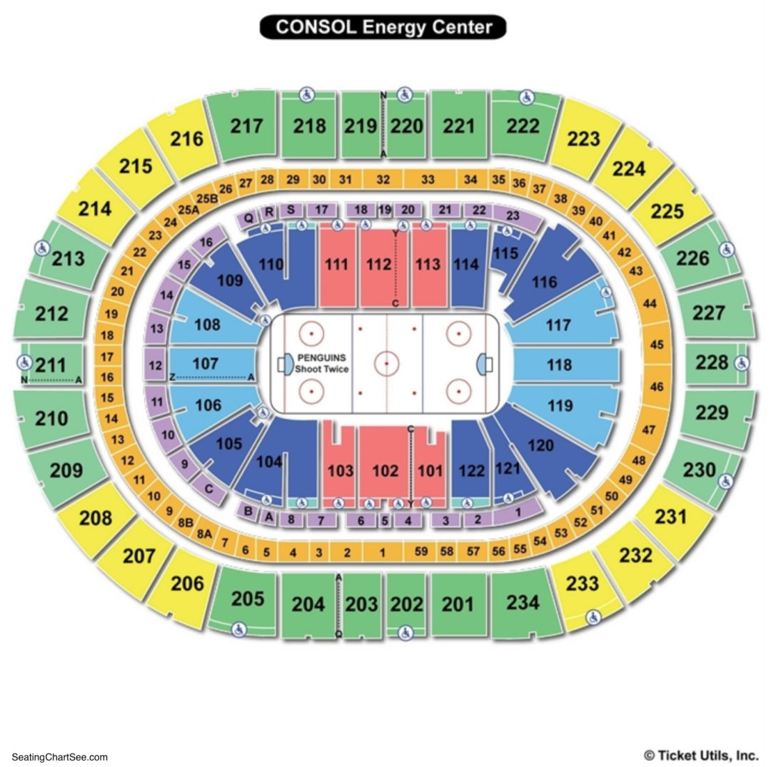Ppg paints arena seating chart seating charts tickets