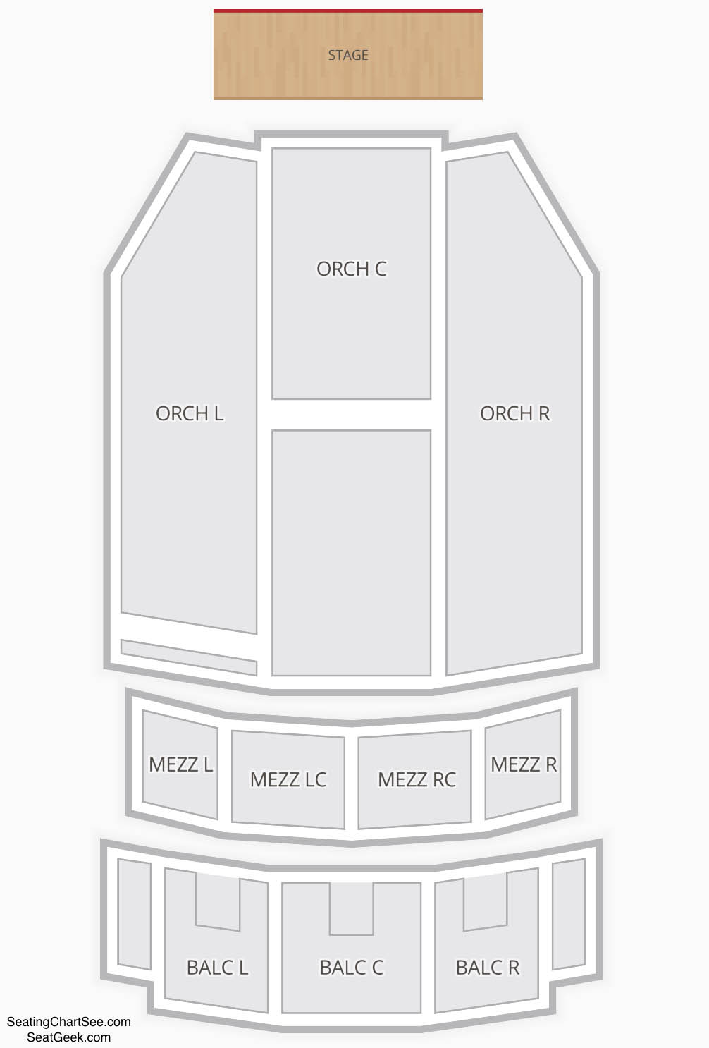 Paramount Theatre Denver Seating Chart Seating Charts Tickets