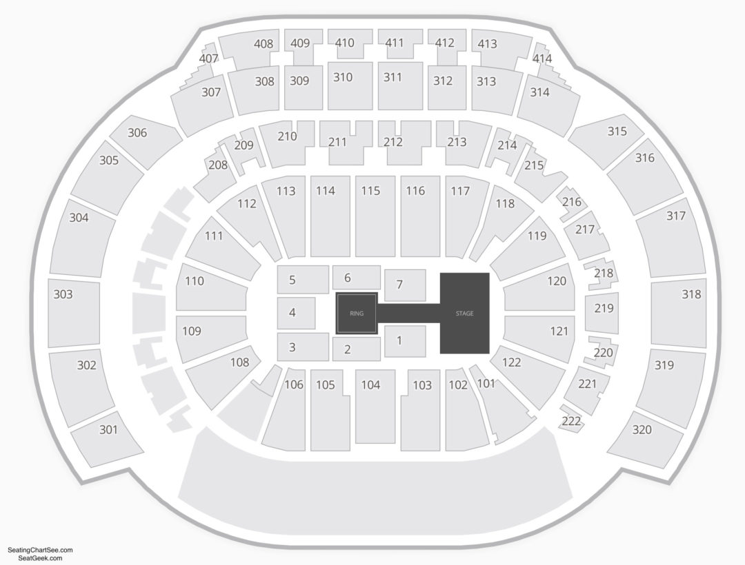 Philips Arena Seating Chart | Seating Charts & Tickets