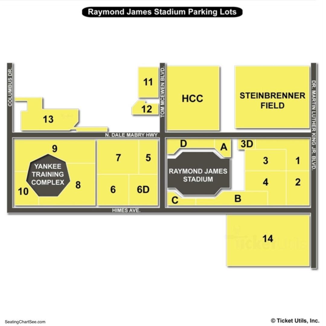 Raymond James Stadium Seating Chart Seating Charts Amp Tickets