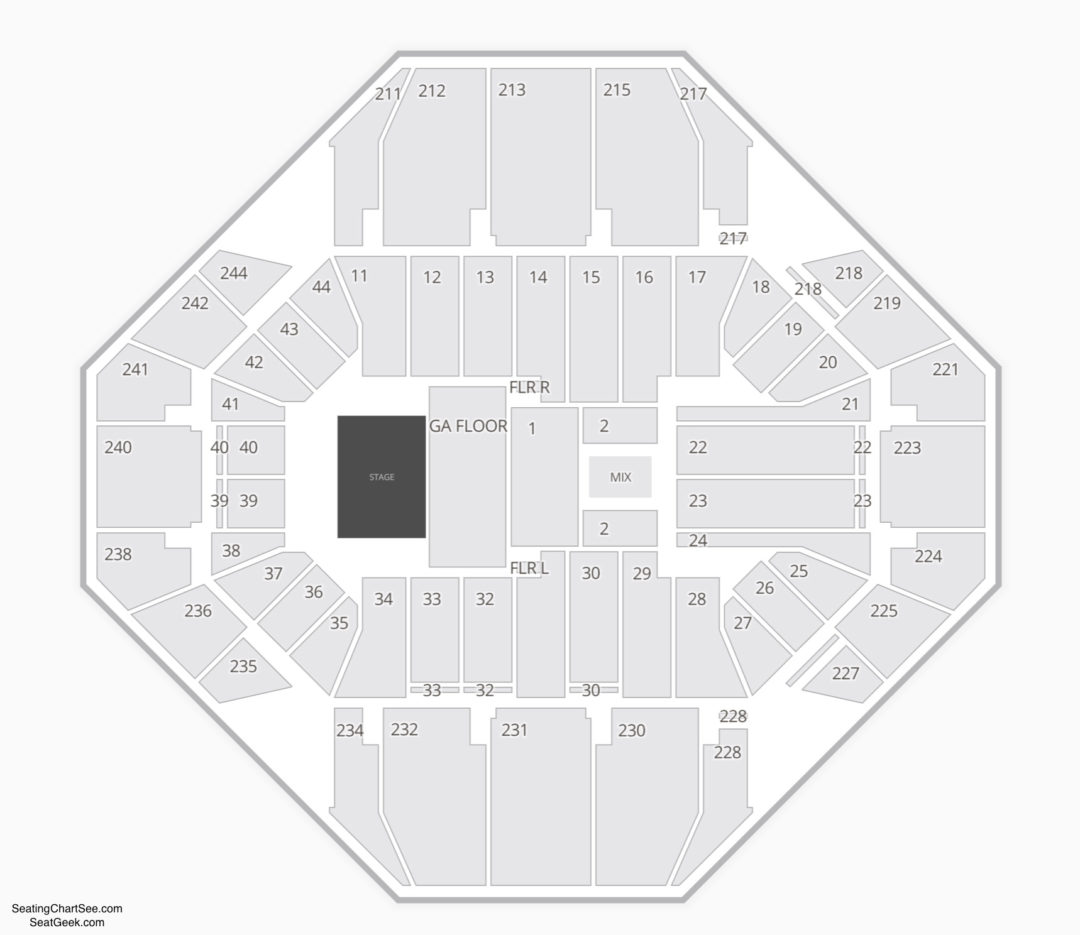 Rupp Arena Concert Seating Chart