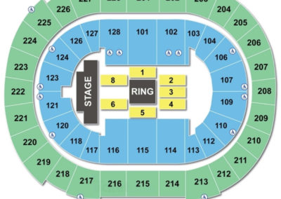 SAP Center Seating Chart | Seating Charts & Tickets