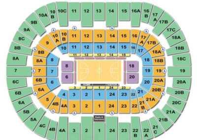 Valley View Center Seating Chart Basketball