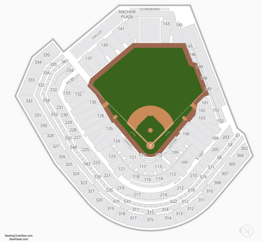 Top 10 Punto Medio Noticias Giants Stadium Seating Chart San Francisco