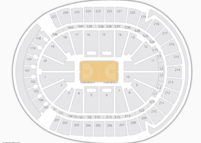 T Mobile Arena Seating Chart Nba