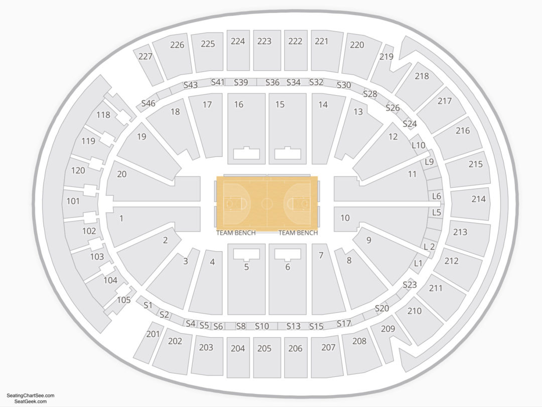T Mobile Arena Seating Chart | Seating Charts & Tickets