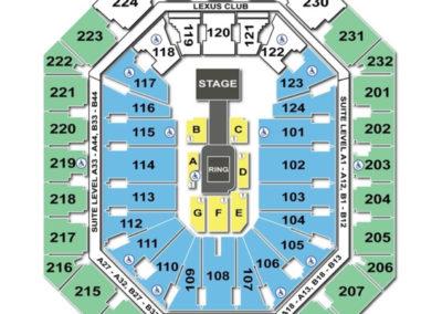 Talking Stick Resort Arena Seating Chart Wwe